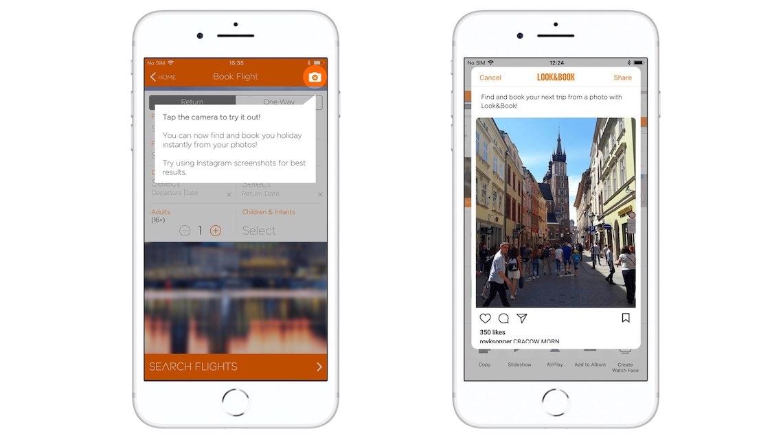 Nova app da easyJet permite reservar viagens através de uma fotografia