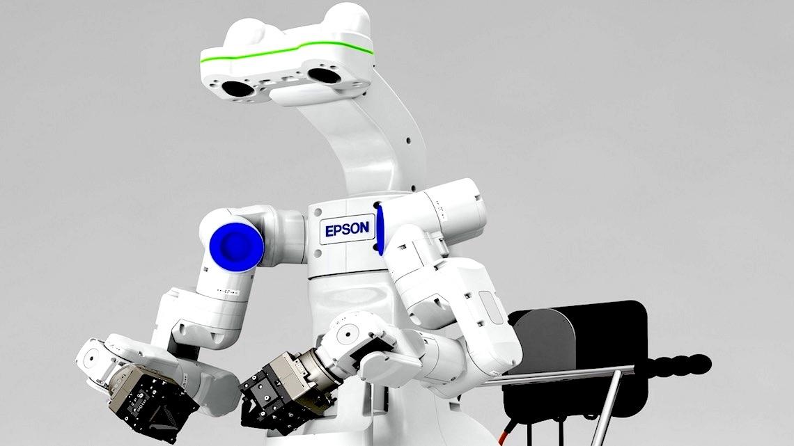 Epson procura os melhores projetos académicos de robótica
