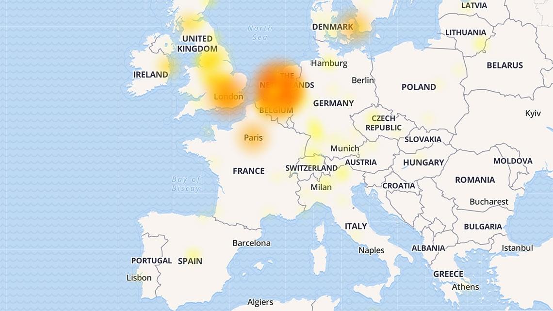 Office 365 down: utilizadores em toda a Europa incapazes de utilizar o Exchange Online
