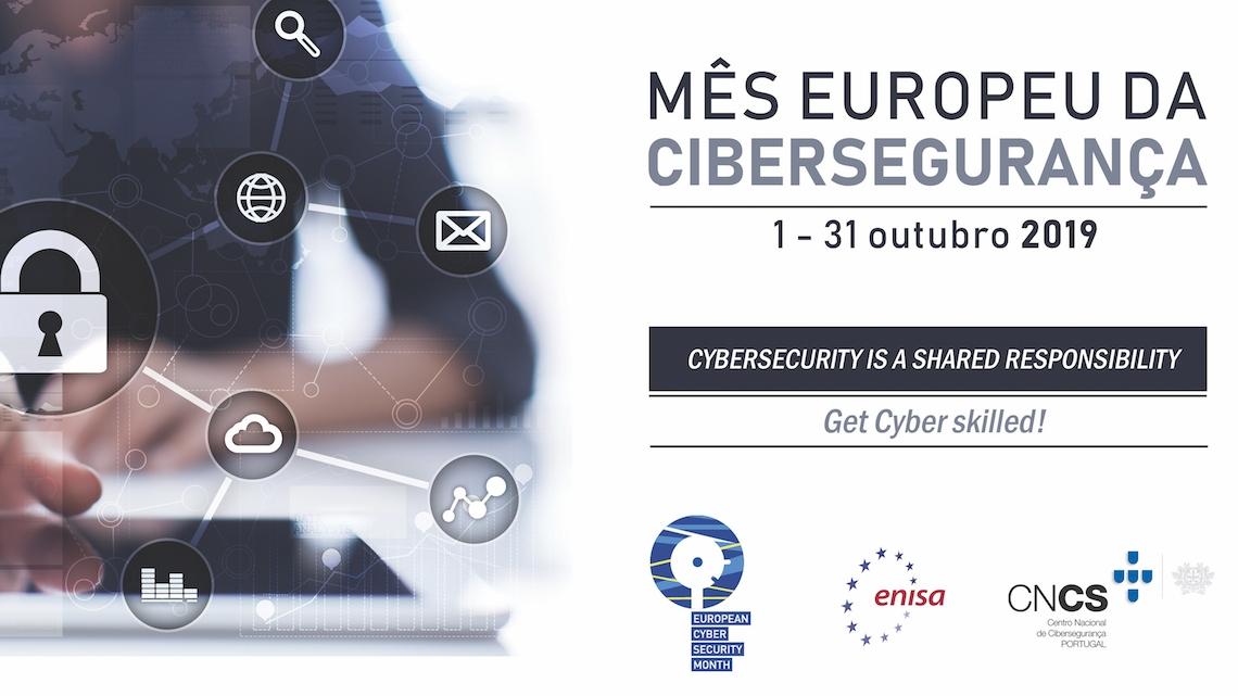 Outubro é o Mês Europeu da Cibersegurança