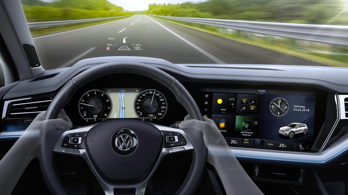 Volkswagen apresenta Innovision Cockpit