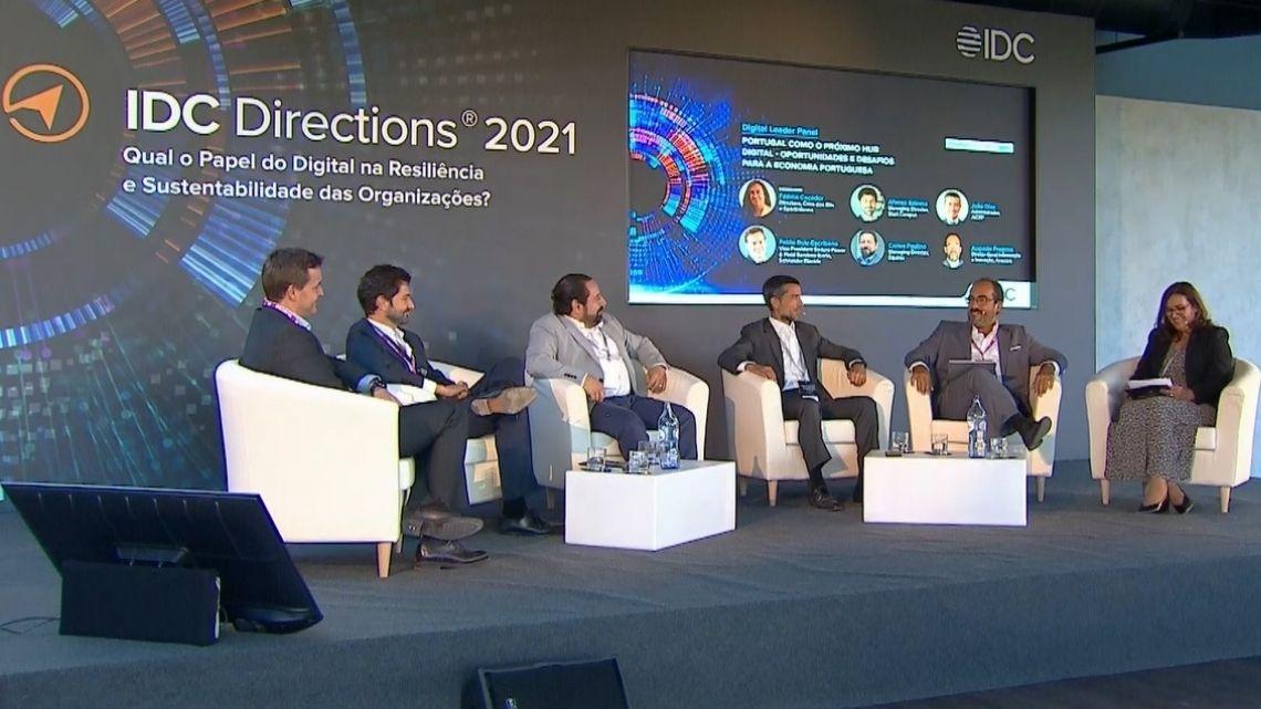 """IDC Directions 2021: """"vejo Portugal como um futuro hub digital de grande significância a nível global"""""""