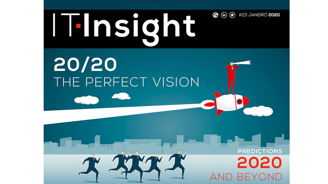 """""""A visão perfeita"""" para 2020 em destaque na IT Insight de janeiro"""