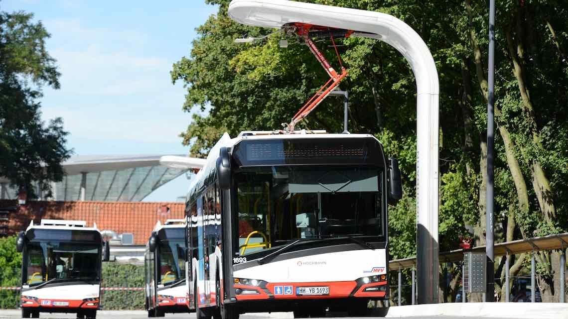 Primeiro sistema de carregamento universal para autocarros elétricos desenvolvido em Portugal