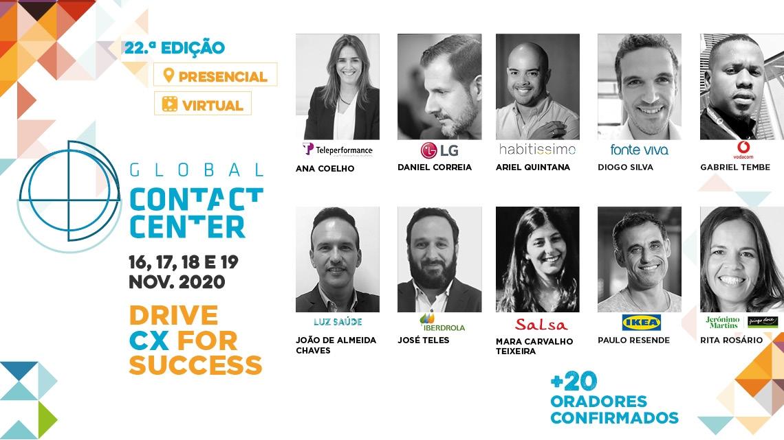 Global Contact Center começa em um mês