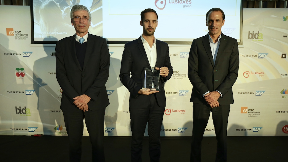 Grupo Lusiaves recebe prémio nos SAP Quality Awards