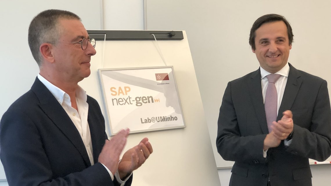Universidade do Minho inaugura SAP Next-Gen Lab