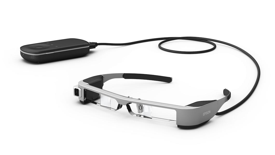 Smart glasses de realidade aumentada da Epson já conseguem pilotar drones