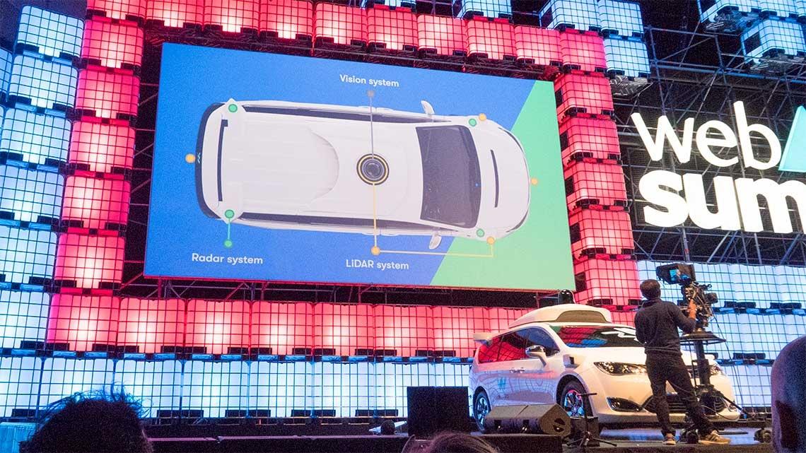 Web Summit: Google quer ser a Uber dos carros autónomos