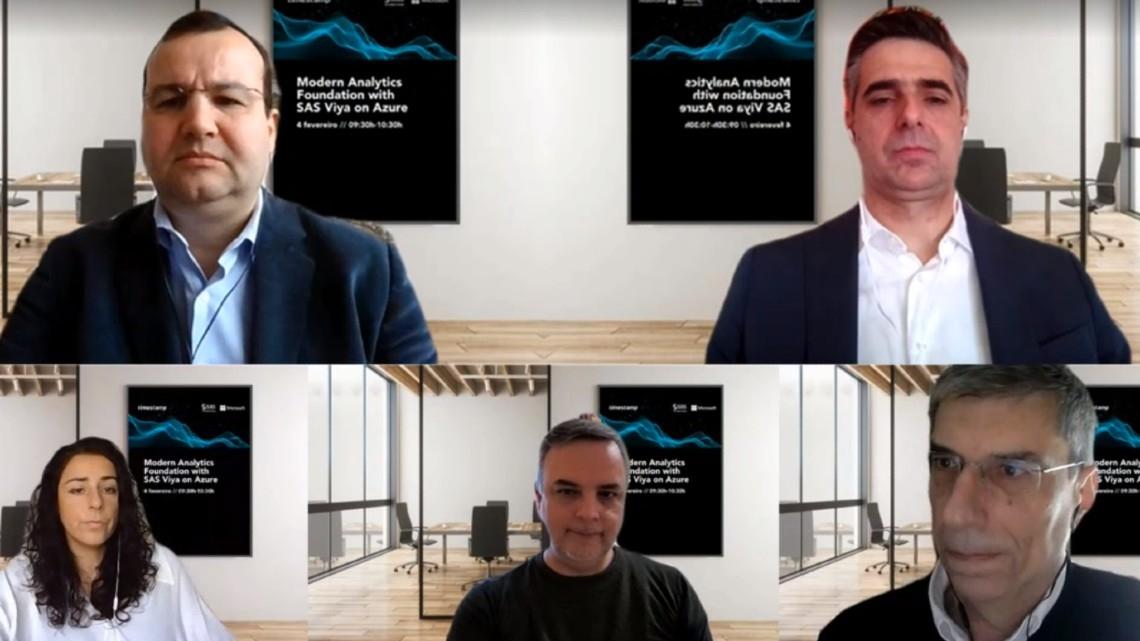 Modern Analytics Foundation com o SAS Viya sobre Azure