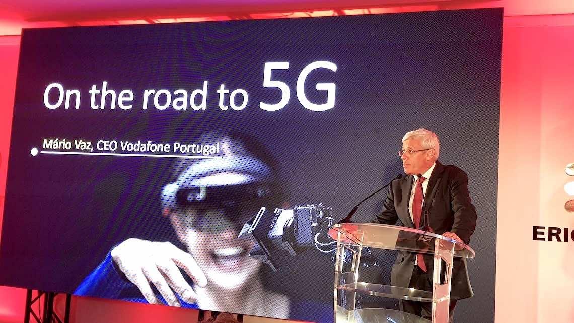 Vodafone e Ericsson inauguram centro de inovação dedicado ao 5G