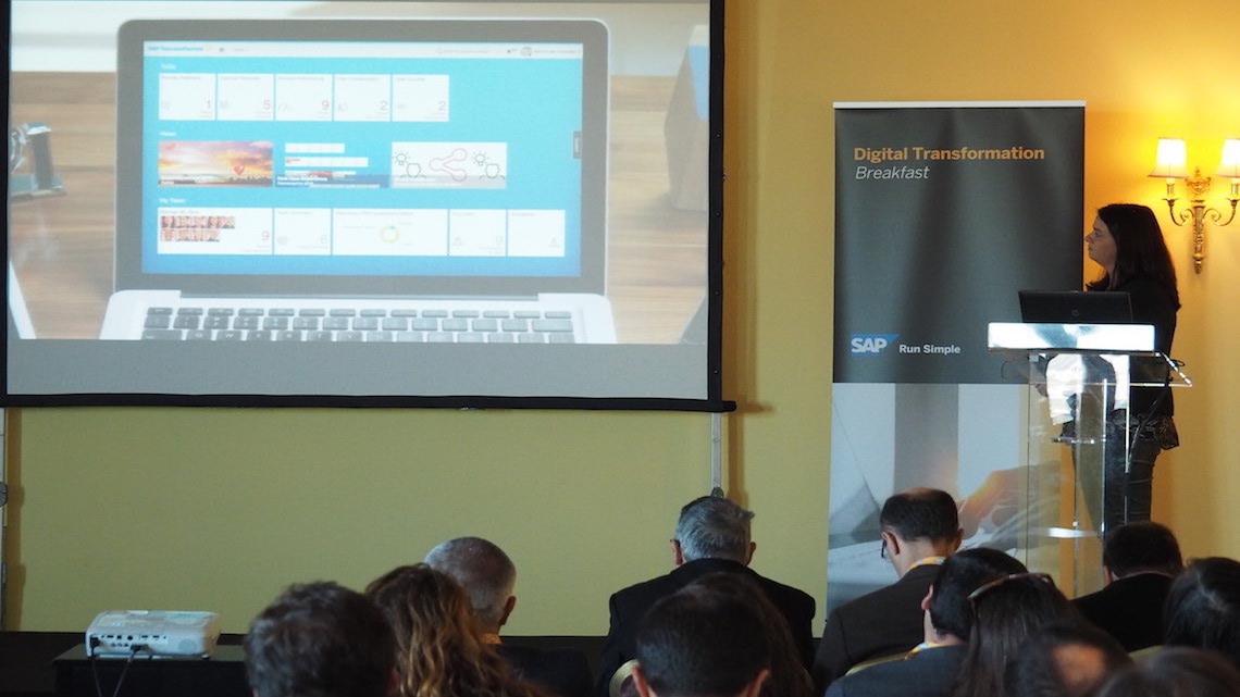 Transformação digital das PME, o compromisso da SAP