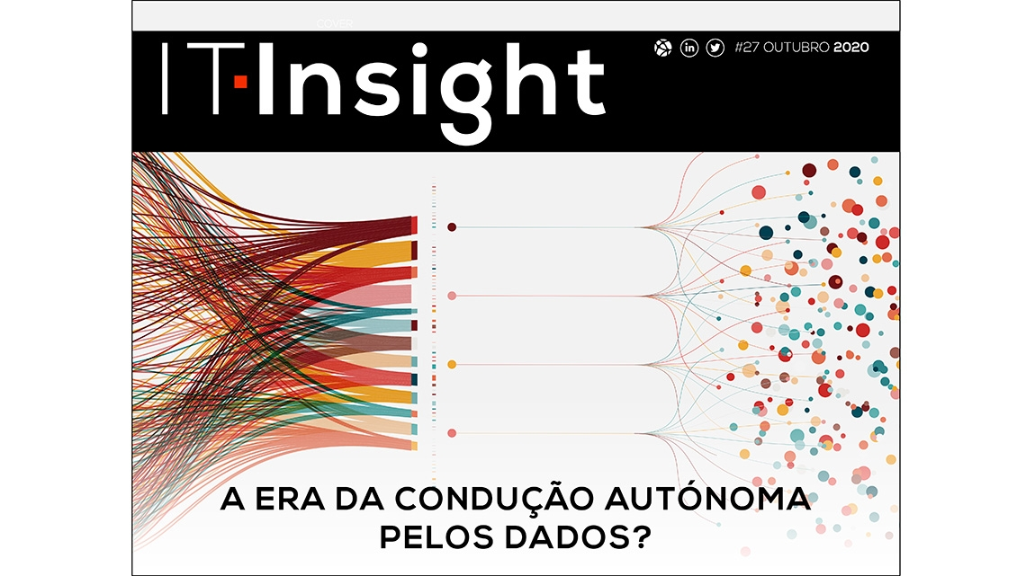 A era da condução autónoma pelos dados em destaque na IT Insight de outubro