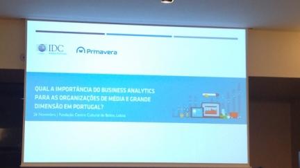 Primavera BSS e IDC debatem a importância do Business Analytics para as empresas portuguesas