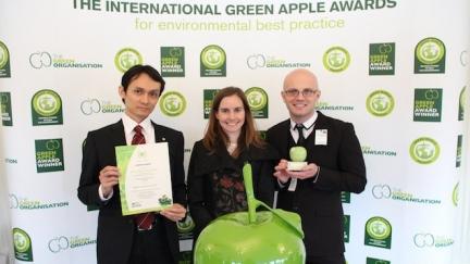 Canon distinguida nos International Green Apple Awards