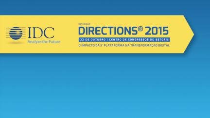 IDC Directions 2015 arranca no Estoril
