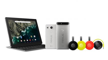 Google revela novos Nexus e o seu primeiro tablet, o Pixel C