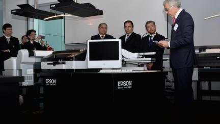 Epson celebra 25 anos em Portugal e inaugura Epson Experience