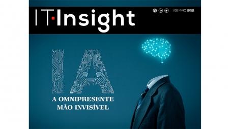 Inteligência artificial em destaque na edição de maio da IT Insight