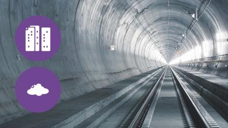 IoT no mais longo e profundo túnel do mundo