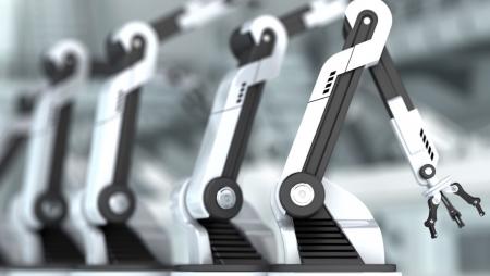 62% das empresas da indústria estão a implementar robótica