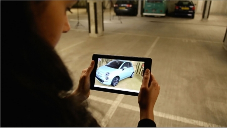 MWC 2016 – Fiat Chrysler apresenta configurador de realidade aumentada