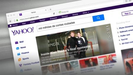 Yahoo - Mil milhões de contas roubadas
