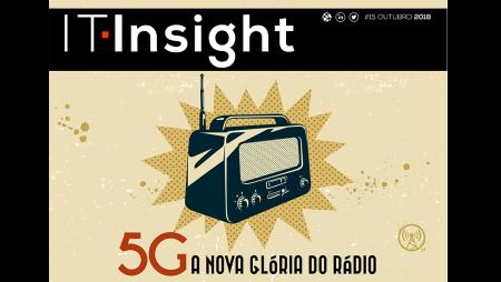 Mobilidade empresarial e 5G na IT Insight de outubro