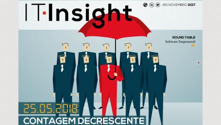 O RGPD em contagem decrescente na IT Insight de Novembro