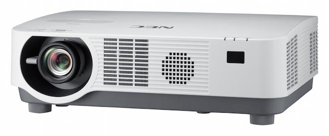 """NEC apresenta o projetor laser de 5000 lumens """"mais compacto do mundo"""""""