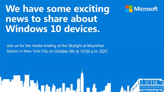 Microsoft deverá anunciar novo Surface Pro 4 no dia 6 de outubro