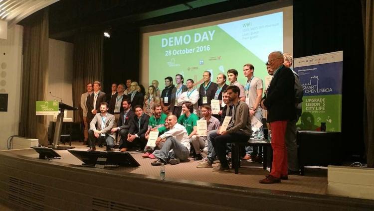 Startups unidas por uma Lisboa mais inteligente e conetada